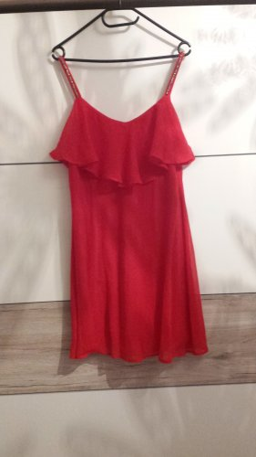 Vero Moda Beach Dress raspberry-red