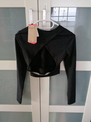 H&M T-shirt de sport noir