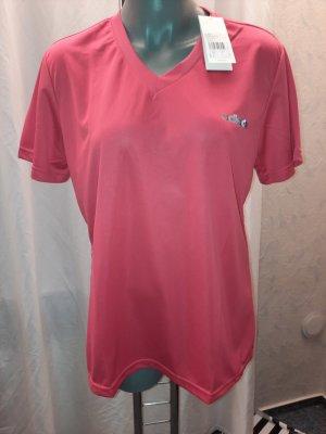 Adidas Originals Shirt met print rood Acryl