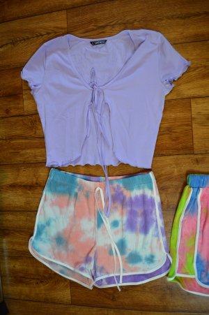 SheIn T-shirt court violet