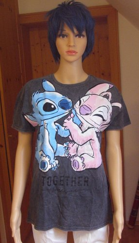 Disney T-shirt imprimé multicolore coton