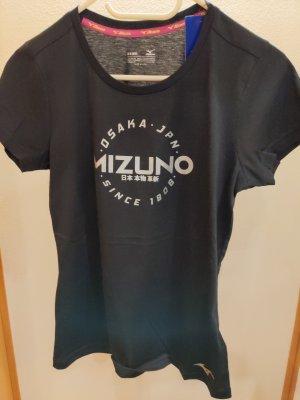 Mizuno Maglietta sport nero Cotone