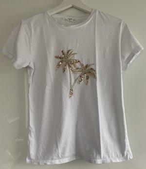 Neues T-Shirt von Mango mit Palme, S