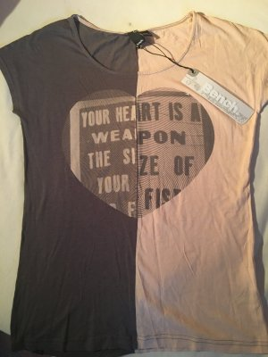 Neues ungetragenes Shirt von BENCH, LOVE, Kombitalent. Gr. 36, Hingucker