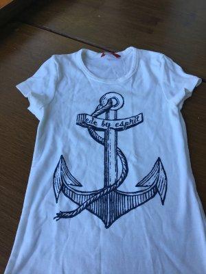 Neues ungetragenes Shirt von EDC by ESPRIT; MARINE DESIGN, Gr. SMALL