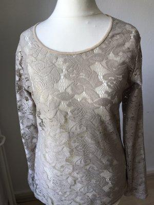 B&K Crochet Shirt beige