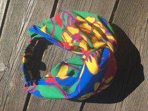 Zara Cappello in tessuto multicolore