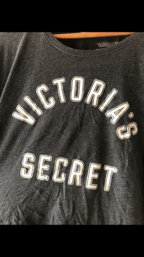 Victoria's Secret Pyjama grijs-wit