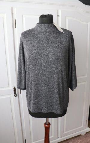 Mango Camicia oversize grigio-grigio scuro