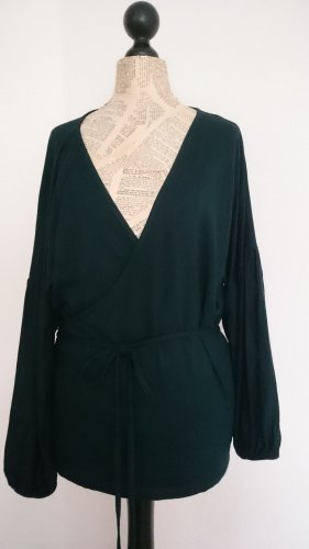 Bonaparte Wraparound Jacket dark green viscose