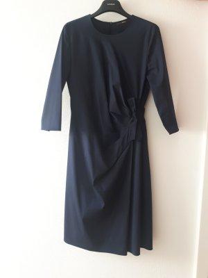 Windsor Midi Dress blue cotton