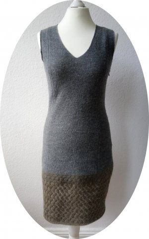 Neues Wollkelid von Apriori mit niedlichem, geflochtenem Saum, tailliert