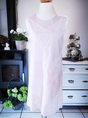 Zara Basic Vestido de cuero multicolor Imitación de cuero