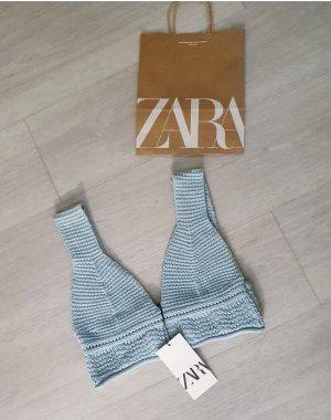 Neues Zara-Bustier hellblau