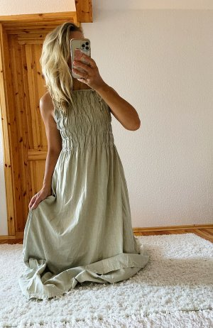 Neues ZARA Maxi langes Kleid Trend Blogger Musthave
