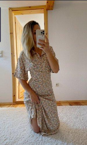 Neues ZARA Midi Maxi Kleid Hemdblusenkleid Trend Blogger Musthave