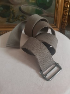 Fabric Belt silver-colored-grey