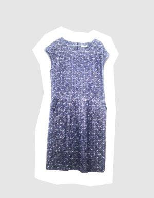 NEUw. Hessnatur Jersey Kleid Gr. 42 100% Baumwolle Kord/Jeanslook