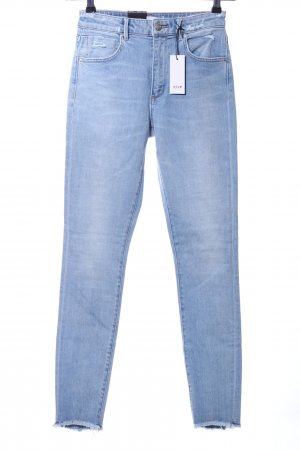 Neuw Hoge taille jeans blauw casual uitstraling