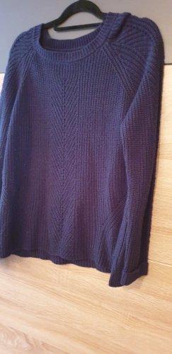 Only Pullover a maglia grossa blu scuro