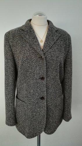 Aigner Blazer de lana blanco-negro