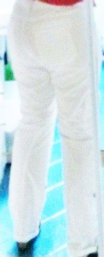 NEUwertig, BW- Hose: CECIL Gr 40= 31/32 leicht hüftiger Schnitt; dekorative silber Bordüren, viele Taschen, Hosenbeine mit Innenband zum Hochkrempeln