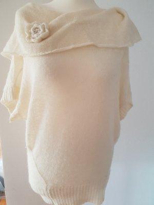 Castro Maglione di lana bianco sporco-crema