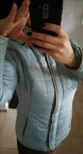Neuwertig Denim & Co Jacke Gr 38 mit Kapuze abnehmbar