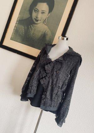 Diane von Fürstenberg Chaqueta con capucha gris