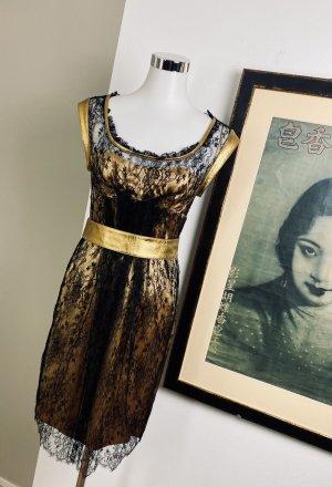 Neuwertig Dolce&Gabbana Seidenkleid Gr.36 Kleid Abendkleid
