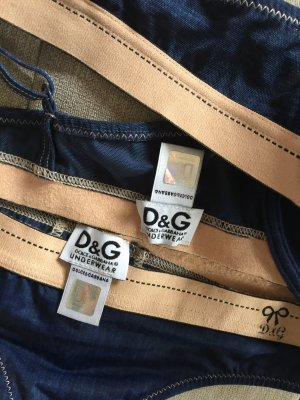 Neuwertig Dolce & Gabbana Set mit Push UP BH Jeans look