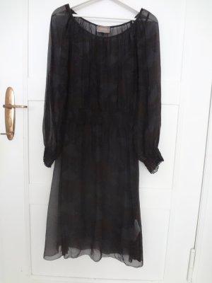 Neuwertig - Feenhaftes Kleid mit Unterkleid von Cartoon - Viskose / Seide Gemisch - Gr. 38