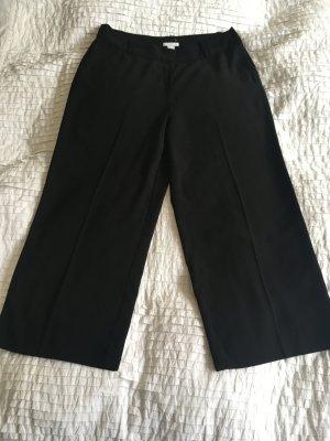 H&M Falda pantalón de pernera ancha negro Poliéster