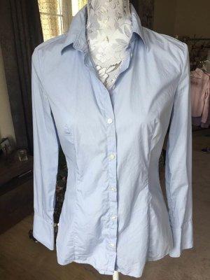 Neuwertig Hemd Bluse von Hugo Boss hellblau