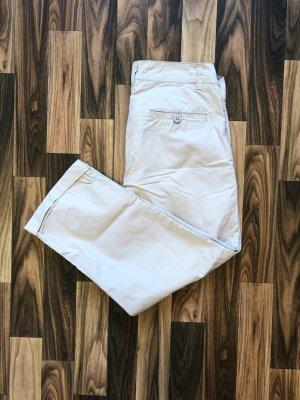 Neuwertig Jeans Fritz Chinohose Kurze Hose 7/8 beige Sommer Damen Größe 34 39,99€