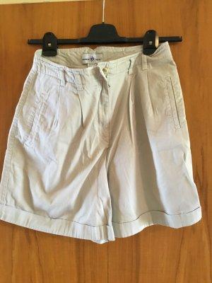 NEUWERTIG - KAUM GETRAGEN - beige Points West Shorts, 100% Baumwolle, Größe 12 / 42, - NEUWERTIG, KAUM GETRAGEN