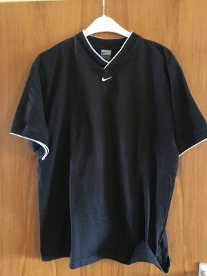 NEUWERTIG - KAUM GETRAGEN - blaues & beiges NIKE T-Shirt, Baumwolle, Größe XXL / 47/48, - NEUWERTIG, KAUM GETRAGEN