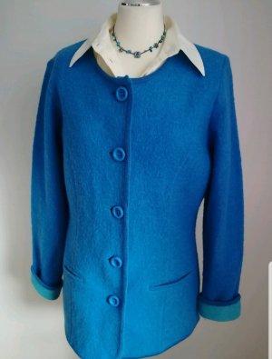 Neuwertig Lana Carina 100%Wolle Jacke/Blazer Gr 38