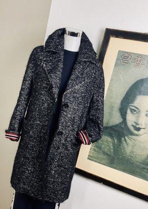 Luisa Cerano Wool Coat multicolored