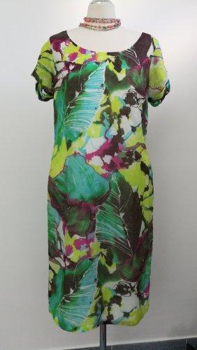Neuwertig Moore Kleid Seide Sommer Gr 42