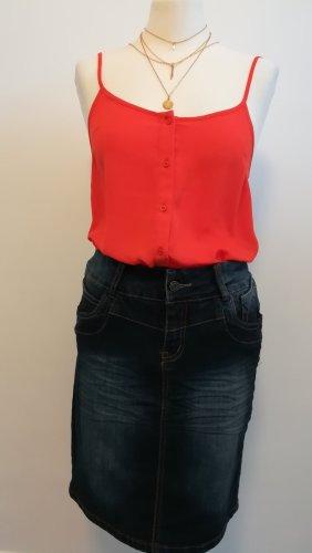 Neuwertig Multiblu Jeans Rock Gr 38