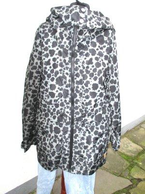 Nümph Heavy Raincoat black-dark grey