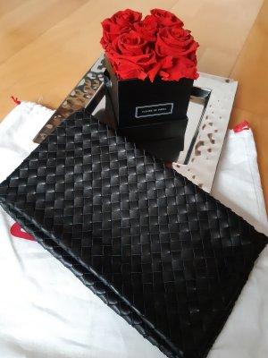 abro Clutch black leather