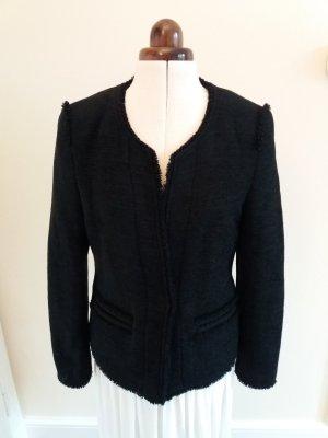 Rich & Royal Wool Blazer black