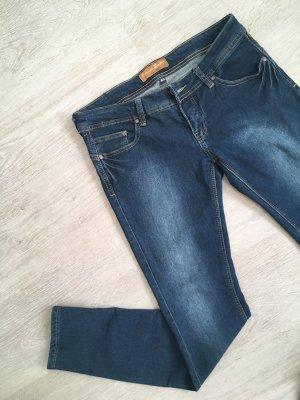 Blind Date Jeans cigarette multicolore