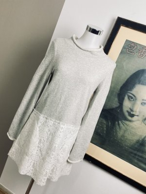 See by Chloé Sweat Dress natural white-light grey