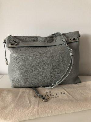 Neuwertig SKAGEN Tasche Handtasche Umhängetasche, grau