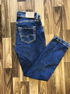 Street One Jeans 7/8 multicolore coton