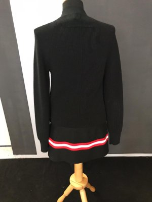 Givenchy Knitted Coat black
