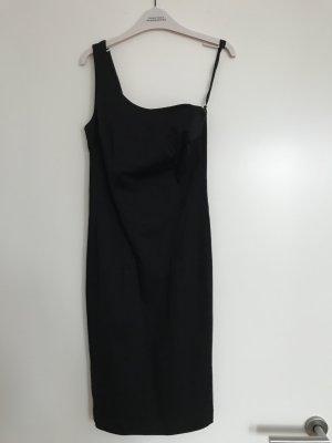 Neuwertig! Stylisches One-Shoulder-Kleid von PINKO